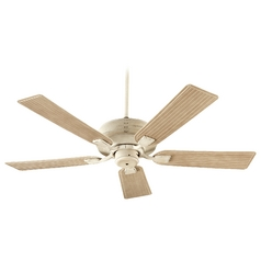 Quorum Lighting Marsden Persian White Ceiling Fan Without Light