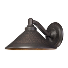 LED Outdoor Wall Light in Aspen Bronze Finish