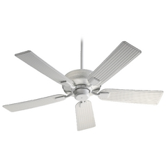 Quorum Lighting Marsden Studio White Ceiling Fan Without Light