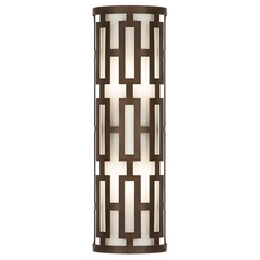 Fine Art Lamps River Oaks Dark Bronze Outdoor Wall Light
