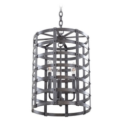 Kalco Lighting Townsend Vintage Iron Pendant Light
