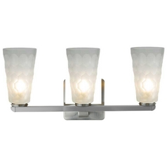 Oggetti Lighting Oasis Satin Nickel Bathroom Light