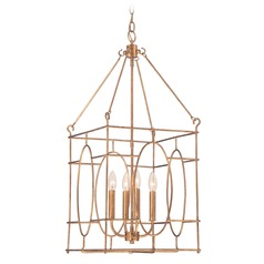 Quoizel Vintage Gold Pendant Light