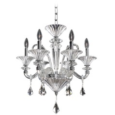 Allegri Chauvet 6-Light Chandelier in Polished Chrome