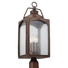 Feiss Lighting Randhurst Copper Oxide Post Light