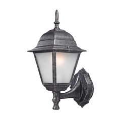 Traditional Outdoor Wall Light - 14-1/4 Inches Tall
