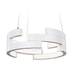 White LED Pendant Light by Kuzco Lighting