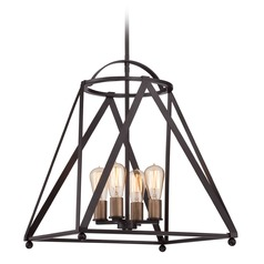 Quoizel Western Bronze Pendant Light