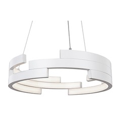 Kuzco Lighting White LED Pendant Light