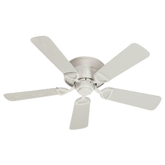 Quorum Lighting Medallion Patio Studio White Ceiling Fan Without Light