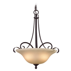 Thomas Lighting Brighton Oil Rubbed Bronze Pendant Light