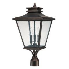 Capital Lighting Gentry Old Bronze Post Light