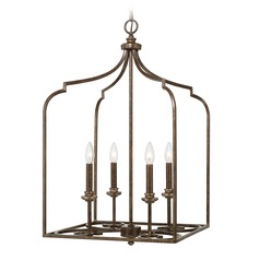 Capital Lighting Kingsley Dark Spice Pendant Light