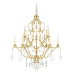 Capital Lighting Blakely Capital Gold Chandelier