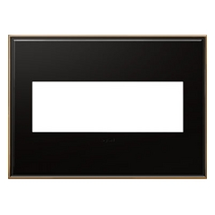 Legrand Adorne Oil-Rubbed Bronze 3-Gang Switch Plate