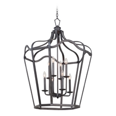 Kalco Lighting Livingston Charcoal Pendant Light
