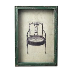 Sterling Lighting Distressed Verde Wall Art