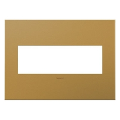 Legrand Adorne Satin Bronze 3-Gang Switch Plate