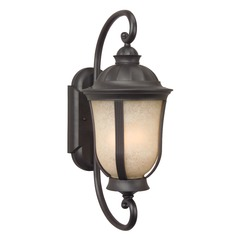 Craftmade Lighting Frances Ii Es Oiled Bronze Outdoor Wall Light