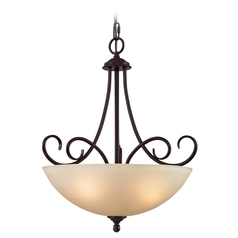 Thomas Lighting Chatham Oil Rubbed Bronze Pendant Light