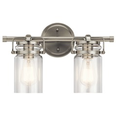 Bathroom Light Brushed Nickel Brinley by Kichler Lighting