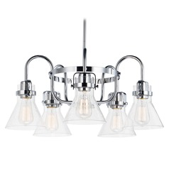 Maxim Lighting Seafarer Polished Chrome Chandelier