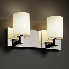 Justice Design Group Fusion Collection Bathroom Light