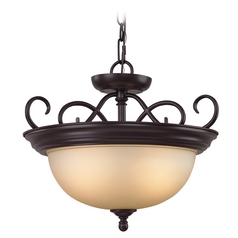 Cornerstone Lighting Chatham Oil Rubbed Bronze Pendant Light