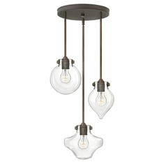 Hinkley Lighting Congress Oil Rubbed Bronze Mini-Pendant Light