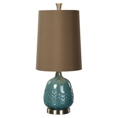 Uttermost Casaletto Blue Ceramic Lamp