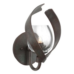 Kalco Solana Oxidized Copper Sconce