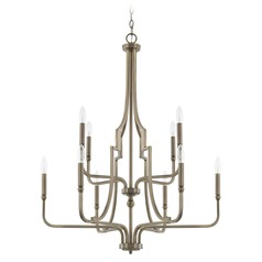 Capital Lighting Dawson Aged Brass Chandelier