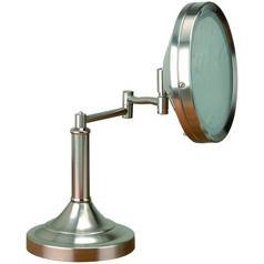 Lighted Lighted Tabletop Mirror