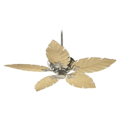 Quorum Lighting Monaco Satin Nickel Ceiling Fan Without Light