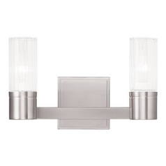 Livex Lighting Midtown Brushed Nickel Bathroom Light