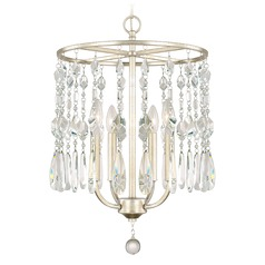 Capital Lighting Juliette Winter Gold Mini-Chandelier