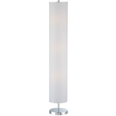 Lite Source Lighting Lite Source Lighting Carson Chrome Floor Lamp with Conical Shade LS-81668