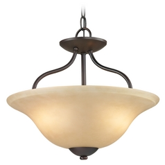 Cornerstone Lighting Conway Oil Rubbed Bronze Pendant Light