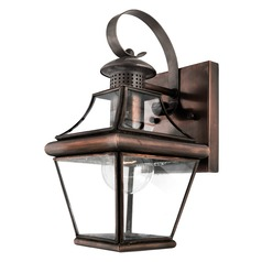 Quoizel Lighting Carleton Aged Copper Outdoor Wall Light