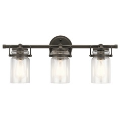 Bathroom Light Olde Bronze Brinley by Kichler Lighting