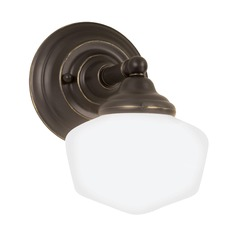 Sea Gull Lighting Academy Heirloom Bronze LED Sconce