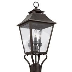 Feiss Lighting Galena Sable Post Light