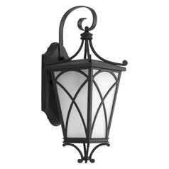 Progress Lighting Cadence Black Outdoor Wall Light
