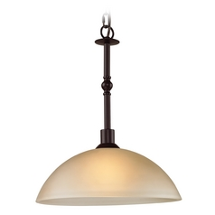 Thomas Lighting Jackson Oil Rubbed Bronze Pendant Light