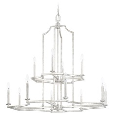 Capital Lighting Oxford Silver Patina Chandelier