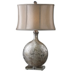 Uttermost Navelli Silver Table Lamp