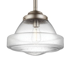 Feiss Alcott Satin Nickel Pendant Light