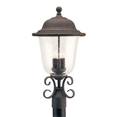 Sea Gull Lighting Trafalgar Oxidized Bronze LED Post Light