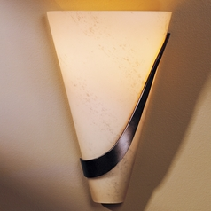 Hubbardton Forge Lighting Half Cone Bronze Sconce