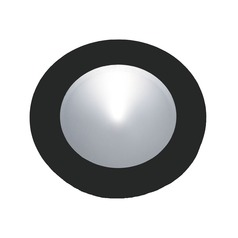 LED Puck Light Recessed 3200K Black by Alico Lighting